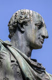 Statue of Charles III of Bourbon in Naples, Italy Stock Photography