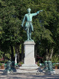 Statue of Charles XII in Stockholm, Sweden Stock Image