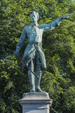 Statue of Charles XII of Sweden Royalty Free Stock Photography