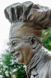 Statue of Chef Boyardee Stock Photo