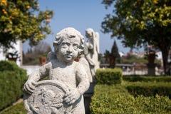 Statue of Cherub Stock Photo