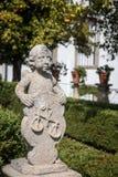Statue of Cherub Stock Images