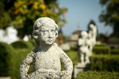 Statue of Cherub Royalty Free Stock Photos