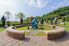 Statue of chiang kai shek Royalty Free Stock Photography