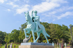 Statue of chiang kai shek. In the park stock image