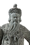 Statue China in Emerald Buddha Bangkok Thailand stockbilder