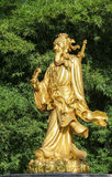 Statue of Chinese deities stock photos
