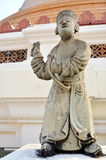 Statue chinese doll at Phra Pathom Chedi Royalty Free Stock Photo