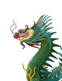 The statue of a Chinese dragon. Stock Photos