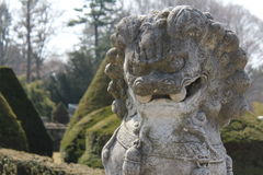 Statue of a Chinese Dragon Stock Photos