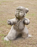 Statue of a Chinese girl. Royalty Free Stock Photo