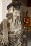 Statue chinese style in Wat Pho, Bangkok thailand. Royalty Free Stock Images