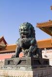 Statue chinoise Image libre de droits