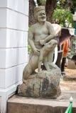 Statue chinoise dans le temple photos libres de droits