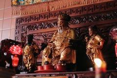 Statue chinoise de Dieu photos stock