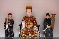 Statue chinoise de Dieu Photographie stock libre de droits