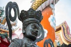 Statue chinoise de Dieu Photo libre de droits