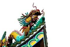 Statue chinoise de dragon image stock