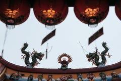 Statue chinoise de dragon photo libre de droits