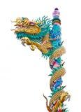 Statue chinoise de dragon photographie stock libre de droits