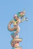 Statue chinoise de dragon photographie stock