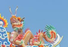 Statue chinoise de dragon photos libres de droits