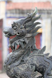 Statue chinoise de dragon Photos libres de droits