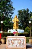 Statue chinoise de guerrier d'un dieu ou quatre rois merveilleux Photographie stock libre de droits