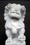 Statue chinoise de lion Photo stock