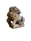 Statue chinoise de lion Images stock