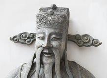 Statue chinoise de plan rapproché chez Wat Pho, temple à Bangkok Photos libres de droits