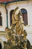 Statue of Christ at Loreta, Prague. Statue of Jesus Christ at Loreta, a large pilgrimage destination in Hradcany, Prague, Czech Republic Stock Photography