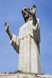 Statue of Christ the Otero in Palencia, Spain Stock Photo