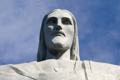 Statue of Christ the Redeemer on Corcovado mountain Royalty Free Stock Photo