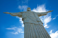 Statue of Christ Redeemer Royalty Free Stock Photo