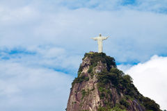 Statue of Christ Redeemer, Rio Stock Photo