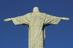 Statue of Christ the Redeemer, Rio de Janeiro, Brazil. Royalty Free Stock Photos
