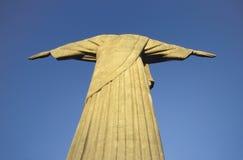 Statue of Christ the Redeemer, Rio de Janeiro, Brazil. The statue of Christ the Redeemer, Rio de Janeiro, Brazil. The statue, 30m high and weighing over 1000 Royalty Free Stock Photography