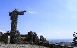 Castelo Rodrigo – Marofa Sanctuary royalty free stock photo