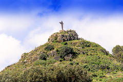 Statue of Christ the saviour in Gozo Royalty Free Stock Photography
