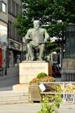 Statue of Christian Krohg Royalty Free Stock Image