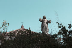 Statue of Christian religion. Photo of statue of Christian religion Stock Images