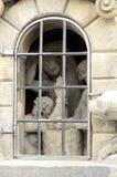 Prague Prisoners Statue Stock Photo