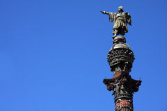 Statue of Christopher Columbus Royalty Free Stock Image