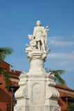 Statue Christopher Columbus Stockbilder