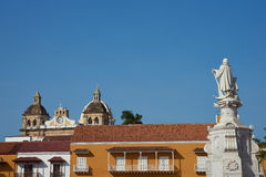 Statue Christopher Columbus Lizenzfreies Stockbild