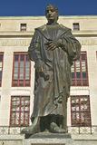 Statue of Christopher Columbus at City Hall in Columbus, Ohio Royalty Free Stock Photo
