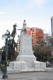 Statue of Christopher Columbus in South America Royalty Free Stock Images