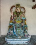 Statue, Chua Thien Mu Pagoda in Hue, Vietnam. Pictured is a statue at the Chua Thien Mu Pagoda in Hue, Vietnam. It is also called the Pagoda of the Celestial stock images