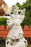Statue cinesi del dio Fotografie Stock